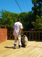 deck cleaning in tyler texas