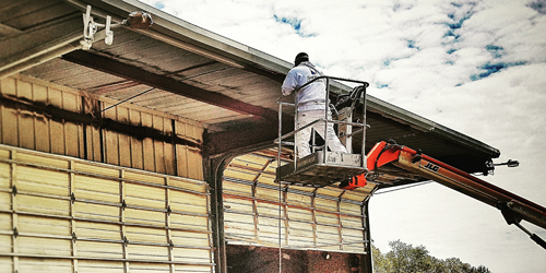 Example picture of our exterior commercial Painting Service